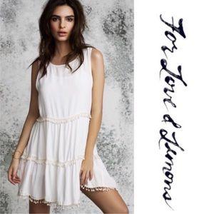 For Love & Lemons // FLL Swing Mini Dress